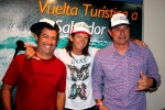 Juan Ashton (PUR), Fabio Gouveia (BRA), Layne Beachley (AUS). Photo: ISA / Quincho